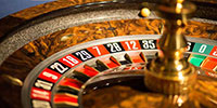 Cylindre de roulette au Casino