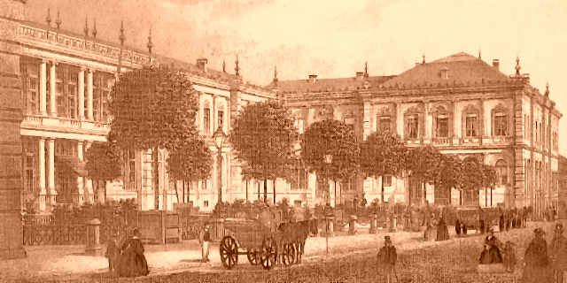 Bad Homburg station balnéaire - 1865